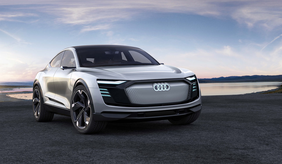 Audi E Tron Sportback Is An All Electric A7 On Stilts Image 1