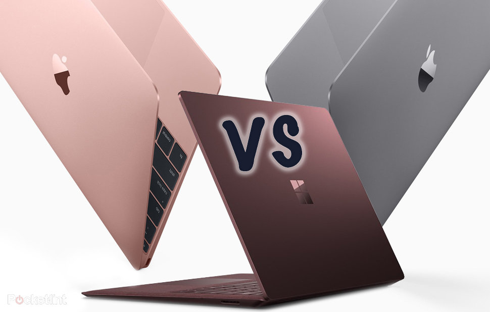 microsoft surface laptop vs apple macbook  2016  vs apple macbook pro  2016   what u0026 39 s the