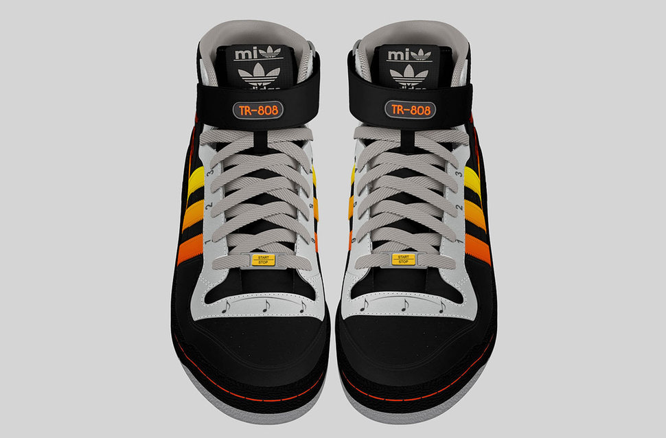 want to see the best adidas trainers ever sneakers with built in drum  machine image 2