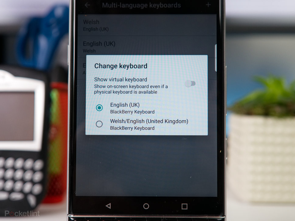 BlackBerry KeyOne tips and tricks: Type and swipe - Pocket-lint
