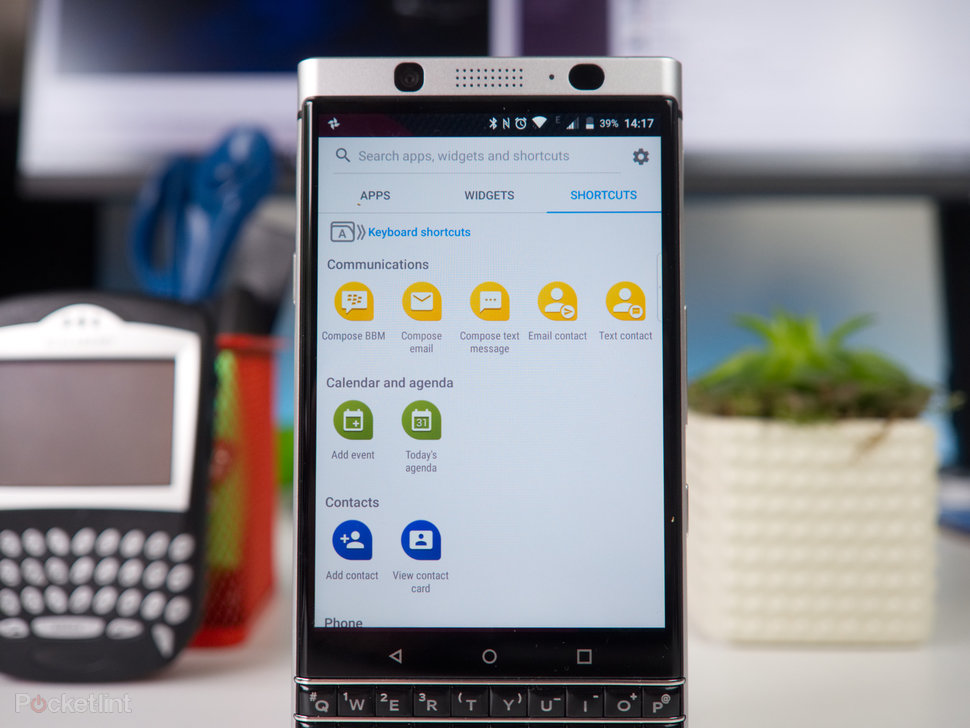 blackberry keyone tips and tricks type and swipe pocket lint rh pocket lint com BlackBerry Email Logo BlackBerry Email Solution