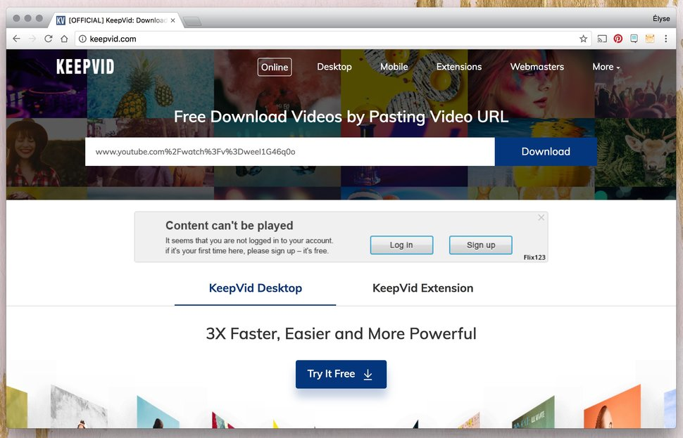 KeepVid is one of the best online video downloaders.