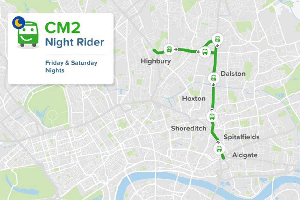 citymapper bus route image 1