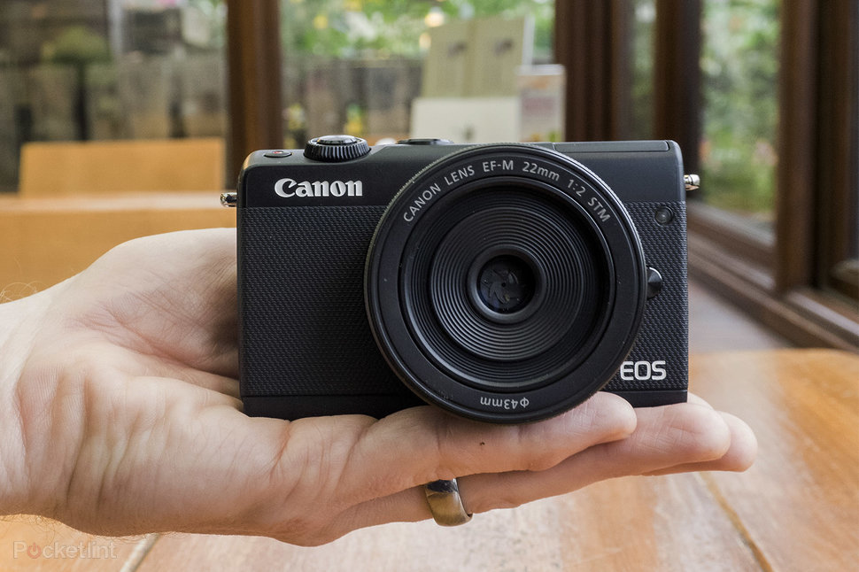 canon eos m100 review pocketable point and shoot makes mirrorless rh pocket lint com Connon EOS Canon EOS Slow Shutter Speed