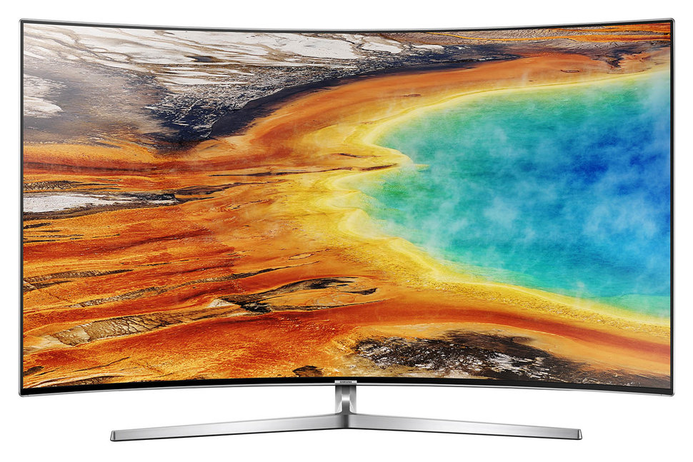 Samsung MU9000 4K TV review: Is curved still compelling? - Pock