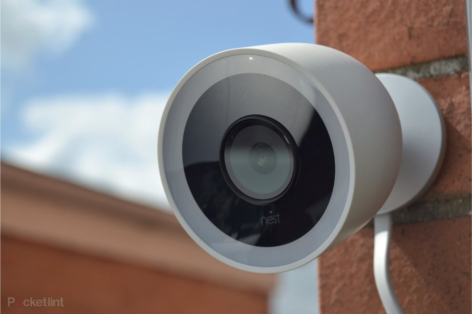 nest cam iq outdoor review outside security camera gets. Black Bedroom Furniture Sets. Home Design Ideas