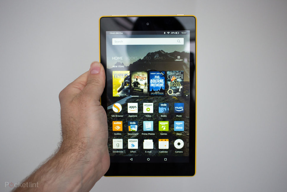 0064757a718fff Amazon Fire HD 8 review: Hitting that 8-inch sweet spot - Pocke