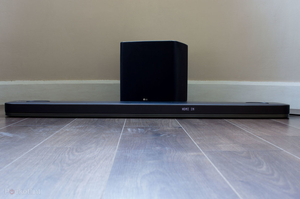 LG SJ9 soundbar review: Dolby Atmos in a compact package - Pock