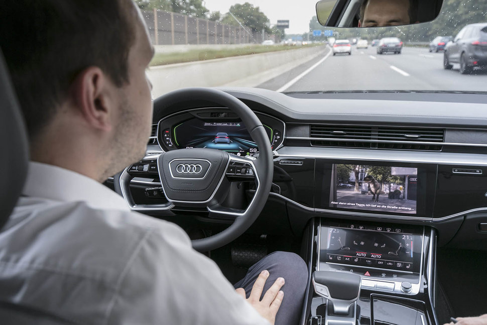 audi a8 with ai how audi traffic jam pilot autonomous driving tech rh pocket lint com audi ai traffic jam pilot system audi traffic jam pilot review