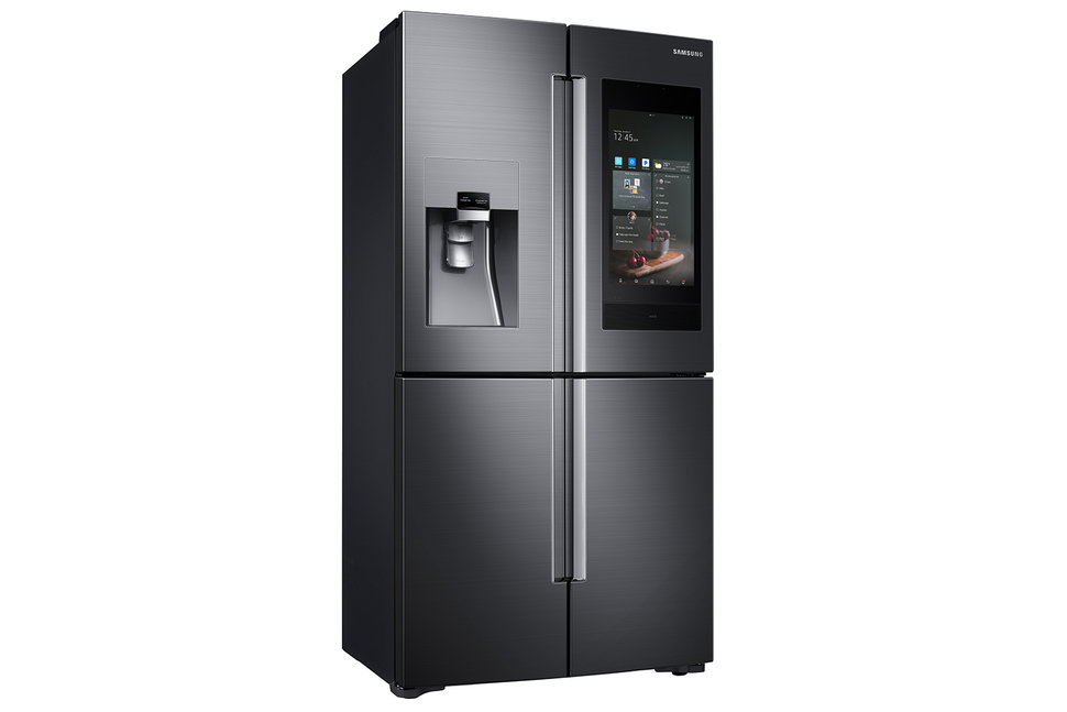 Samsung Family Hub Smart Fridge Adds Bixby And Smartthings Cont