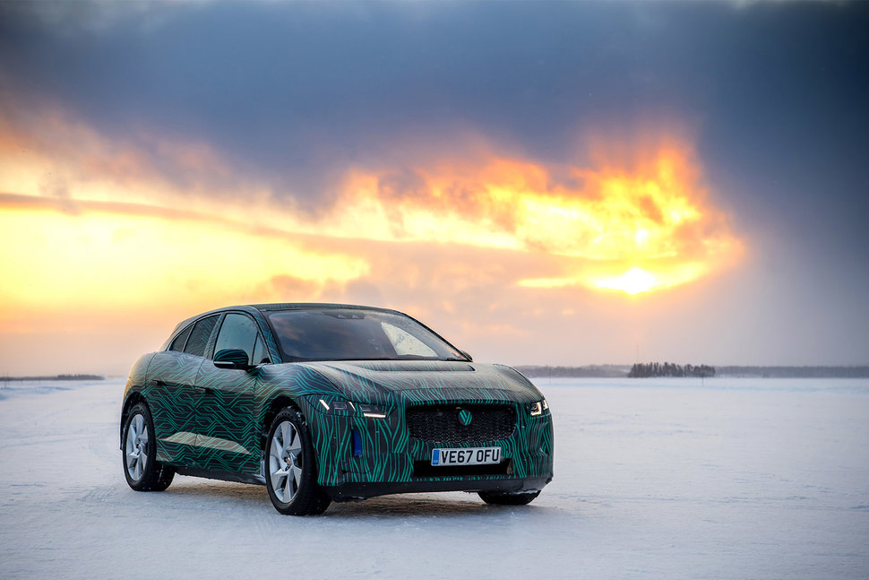 Jaguar IPace First Drive Ice Driving With The Allelectric Jag - All jaguar