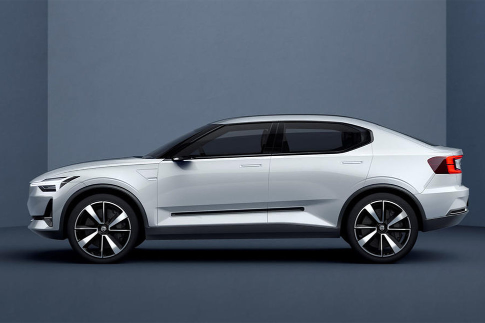 Volvo S First All Electric Car Will Be This Sleek And Y Hatchback