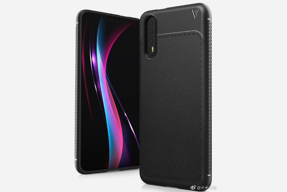 official photos 4ccf1 347f4 Huawei P20 case leaks show an iPhone X-like notch and cameras -