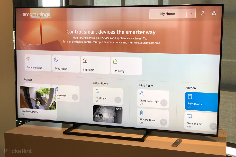 Samsung's 2018 QLED TV lineup will include Bixby to be smarter