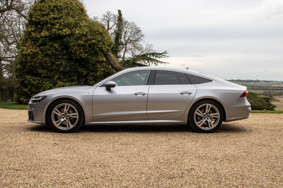 Audi A Review A Techpacked Grand Tourer - How much does an audi a7 cost