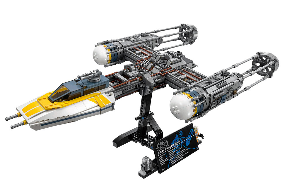 The latest Lego Star Wars set is a superb model of the Y-Wing ...