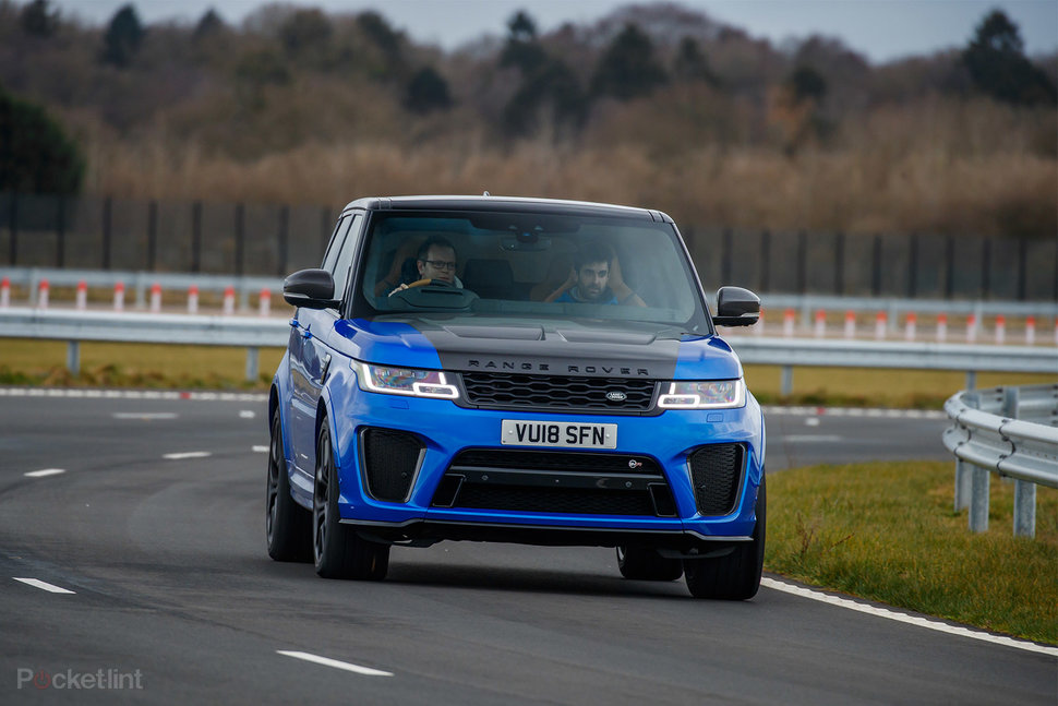 Range Rover Sport SVR review: Land Rover lets its hair down - P