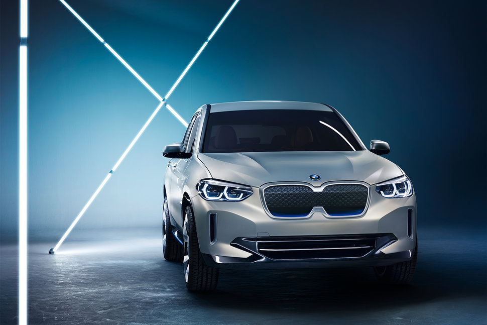 Bmw Reveals Concept Ix3 All Electric Suv Will Go On Sale In 20