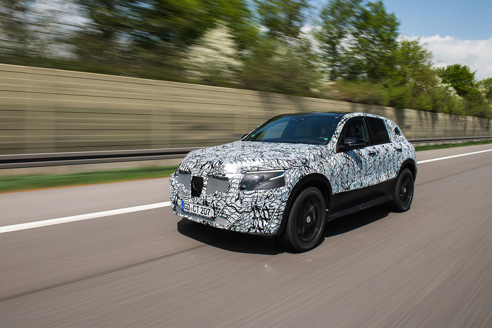 Mercedes Benz Eq C All Electric Suv On Track To Launch In 2019 Image 1