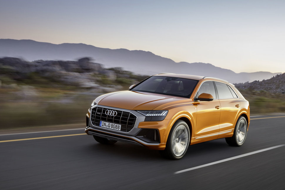 The Audi Q8 Is Here A Sportier Racy Version Of The Sensible Q7