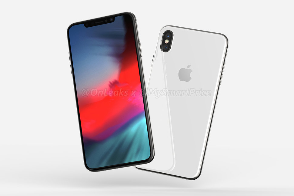 is this what the new iphone x plus and 6 1 inch iphone will look
