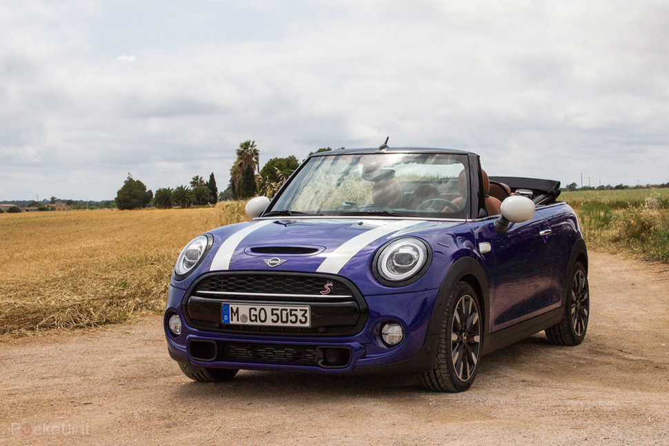 Mini Convertible Cooper S Review Topless Fun Pocket Lint
