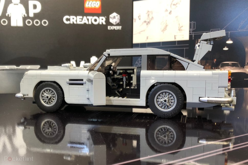 Check Out The Awesome Lego James Bond Aston Martin Db5