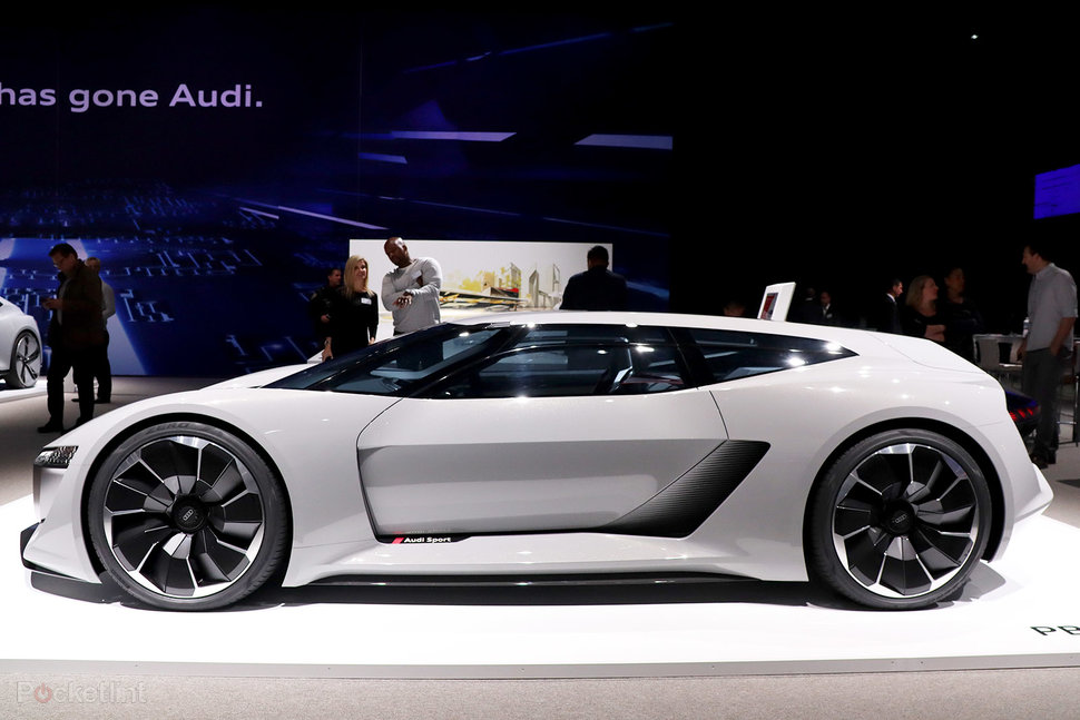 Audi PB ETron Check Out The Future Electric Supercar - Audi future cars