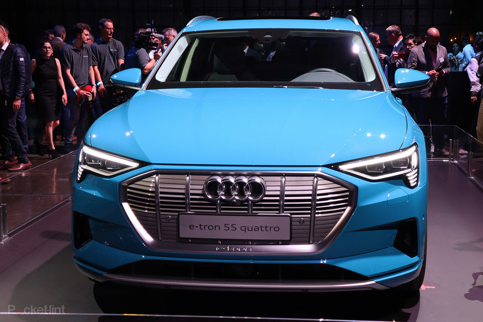 Audi E-tron In Pictures: Audi's First All-electric SUV