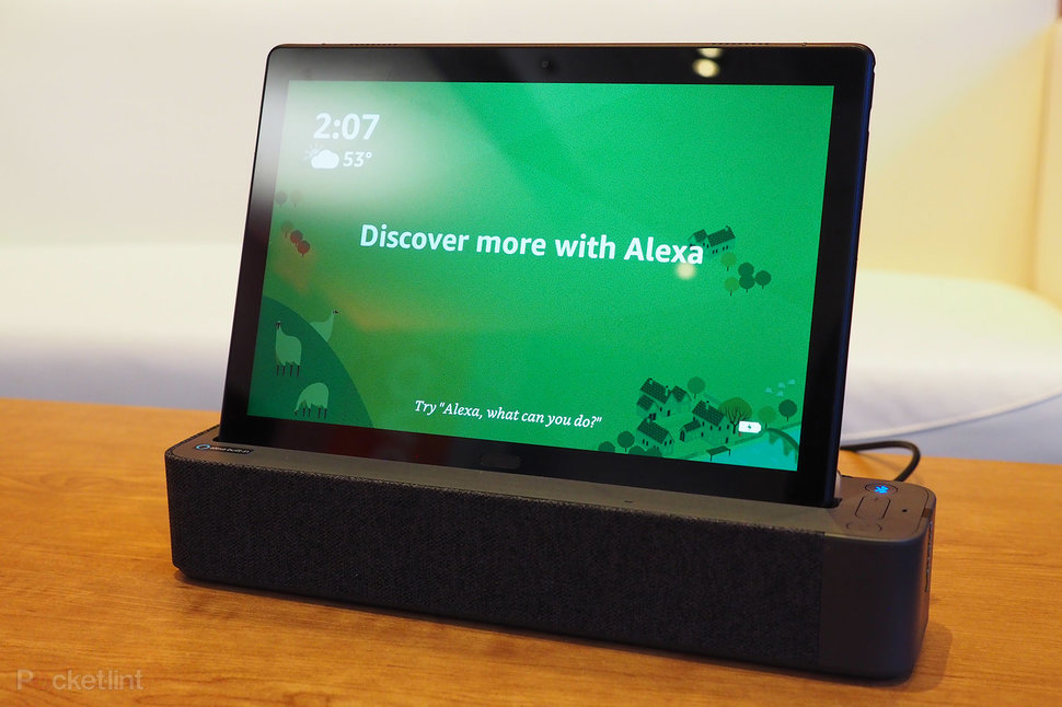 Lenovo Smart Tab P10 Initial Review Tablet And Alexa Hub Rolled Into One