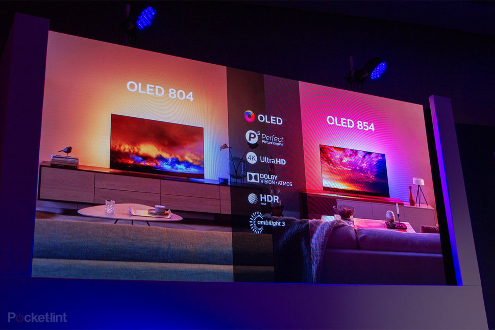 Philips Oled 804 And Oled 854 Models Boost Picture Performance