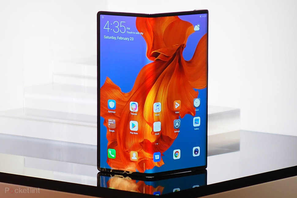 Huawei Mate X in pictures: Look at Huawei's folding phone