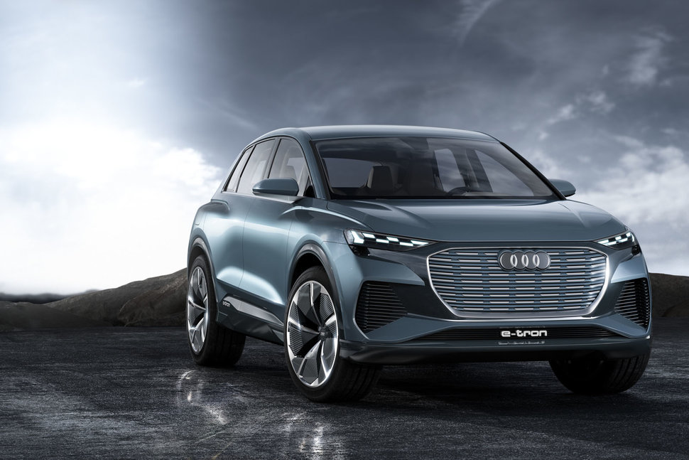 Audi Q4 E Tron Concept Fleshes Out S M Market Electric Suv Plans