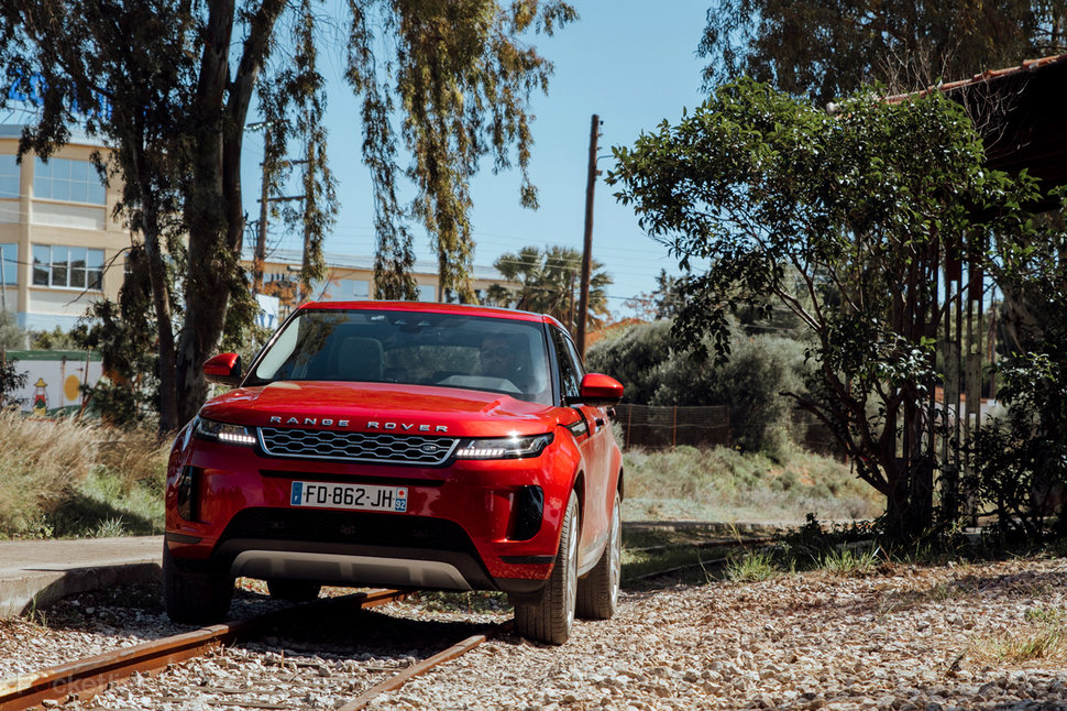 Range Rover Evoque review: Baby SUV is bristling with tech