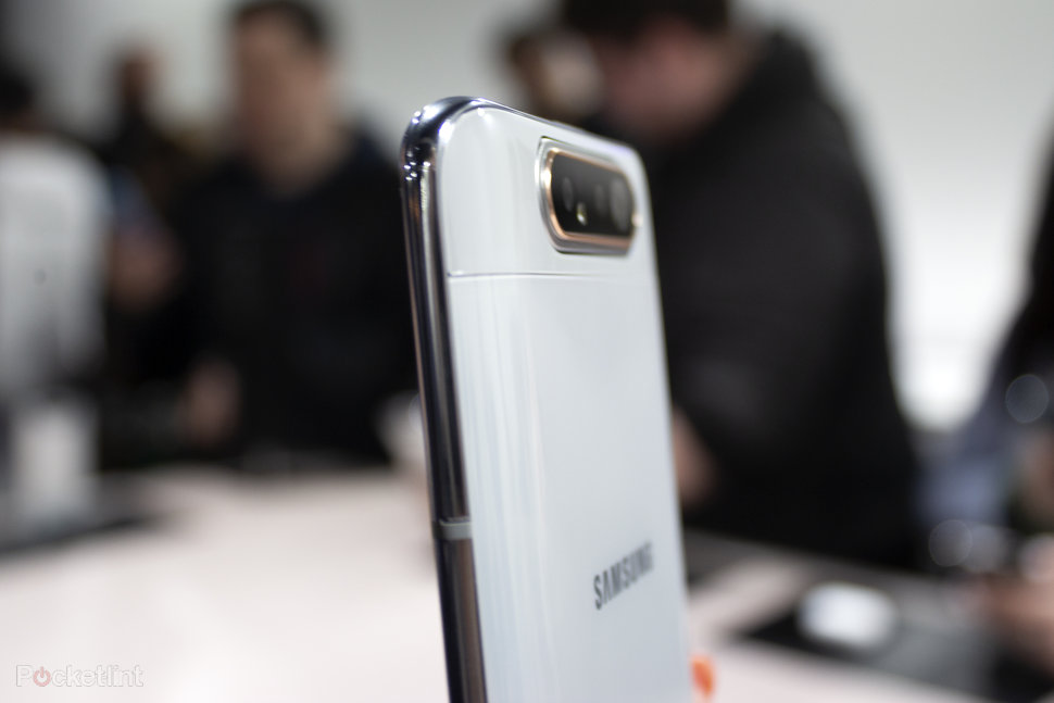 Samsung Galaxy A80 initial review: Will the automatic rotating