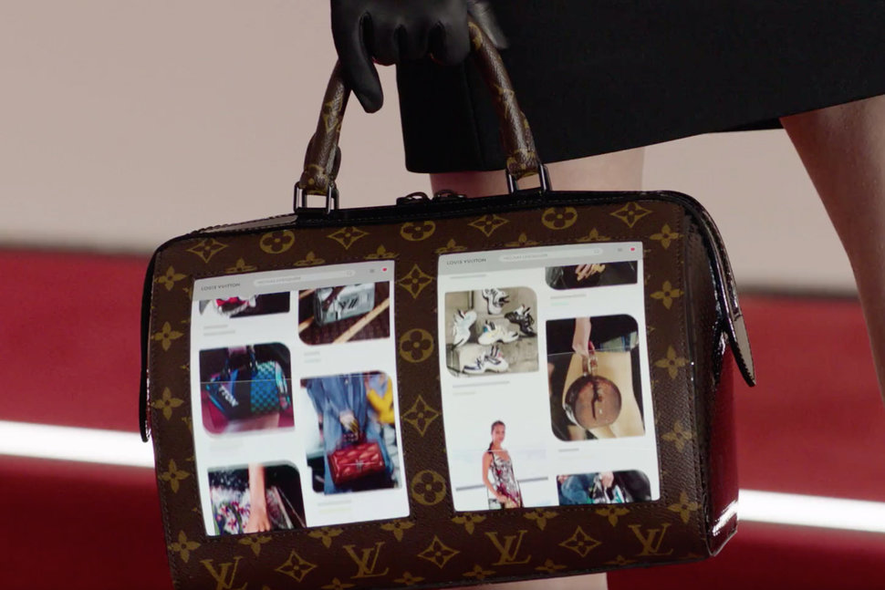 94ac07d28d28e A Louis Vuitton OLED bag is the only way to show off your Insta