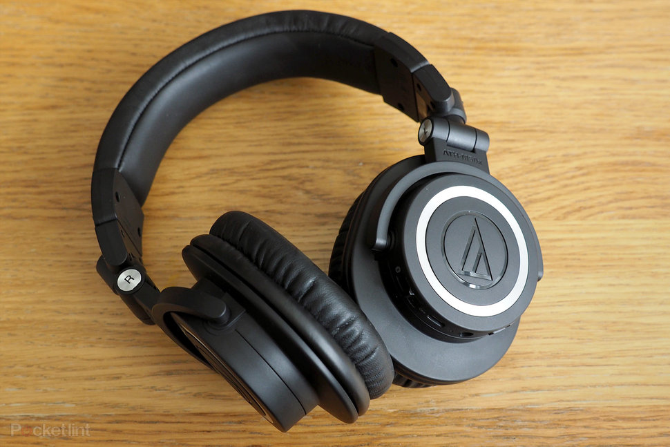 Image result for Audio-Technica ATH-M50x Over-Ear Headphone: