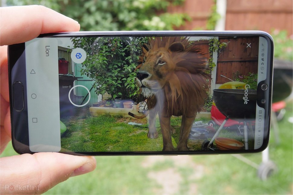 Google search results now include augmented reality animals