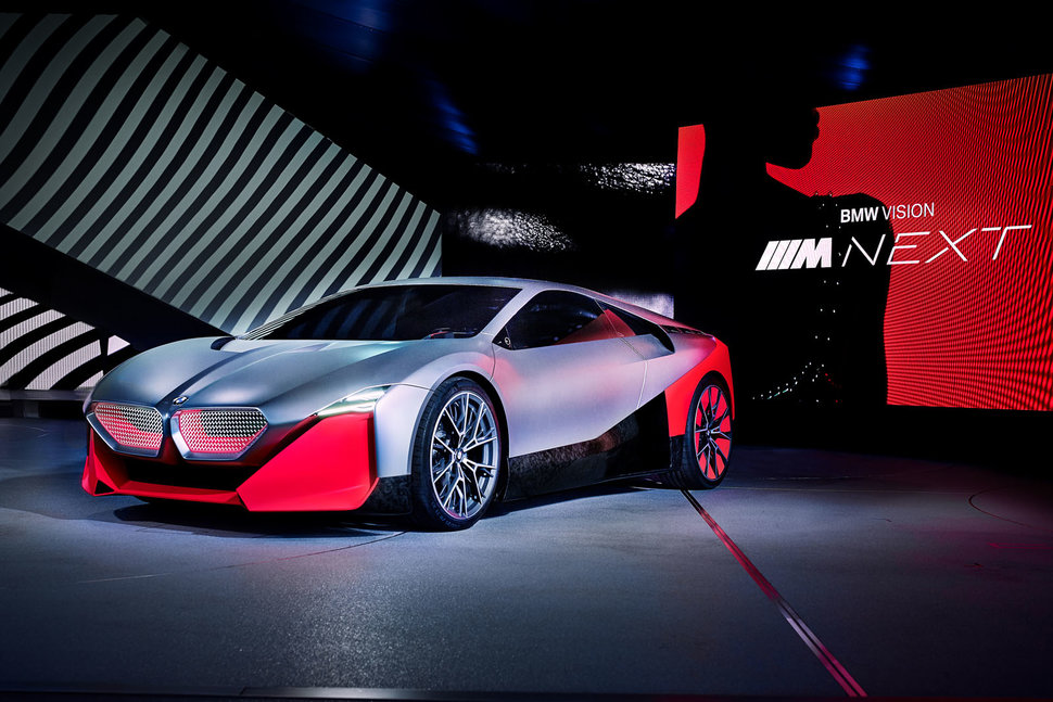 Bmw Vision M Next Imagines A Next Gen I8 Replacement