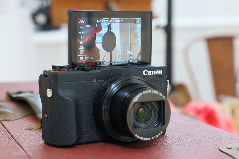 Canon PowerShot G5 X II review: Pop-up viewfinder camera sets sights on Sony RX100