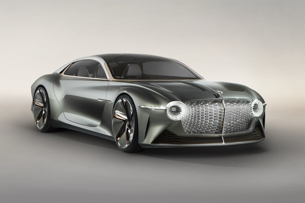 Bentley EXP 100 GT reveals its sustainable electric vision