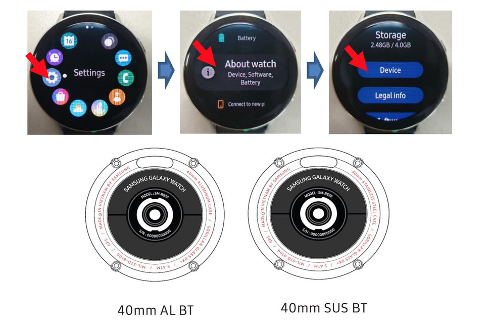 05ff94366 Samsung Galaxy Watch Active 2 design and specs revealed by FCC leak image 2