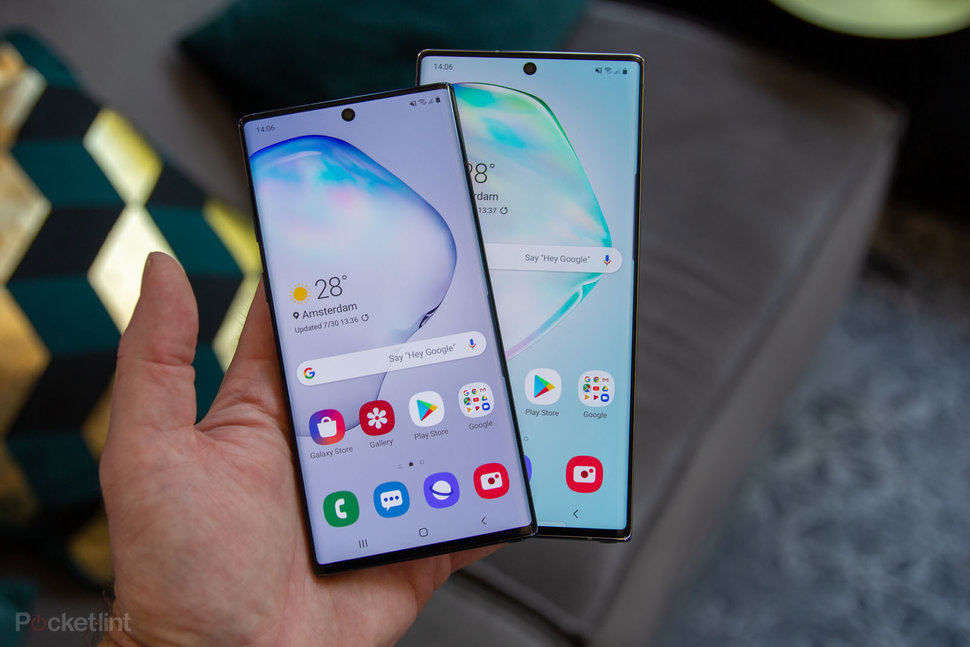 Samsung Galaxy Note 10: 2 sizes, 3 colours, 4 cameras and 5G