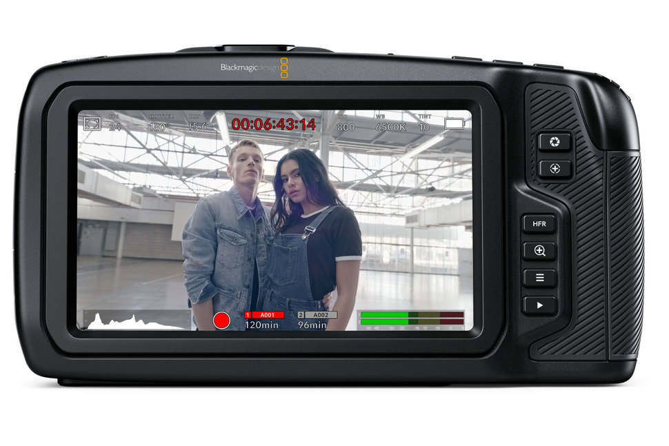 Blackmagic Design beefs up its Pocket Cinema Camera range with