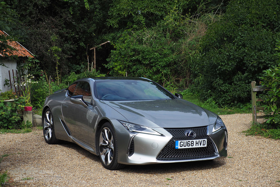 Lexus LC500h review image 1