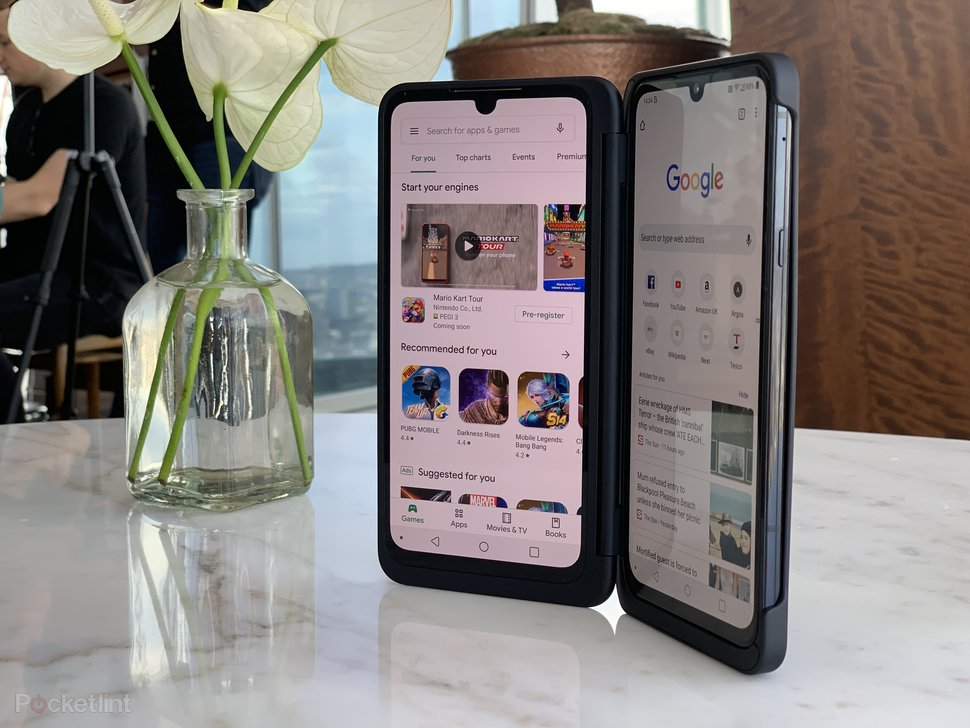 LG G8X ThinQ Dual Screen initial review: Doubling down on two s