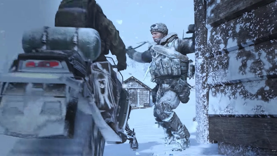 Call Of Duty Modern Warfare 2 Then And Now