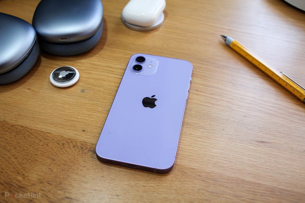 Apple iPhone 12 Purple hands on images photo 1