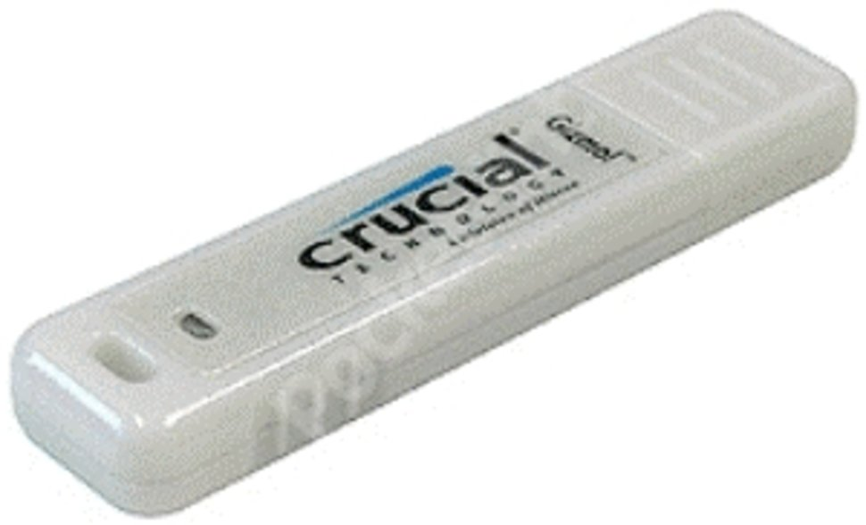 crucial gizmo hi speed 512mb usb flash drive image 1