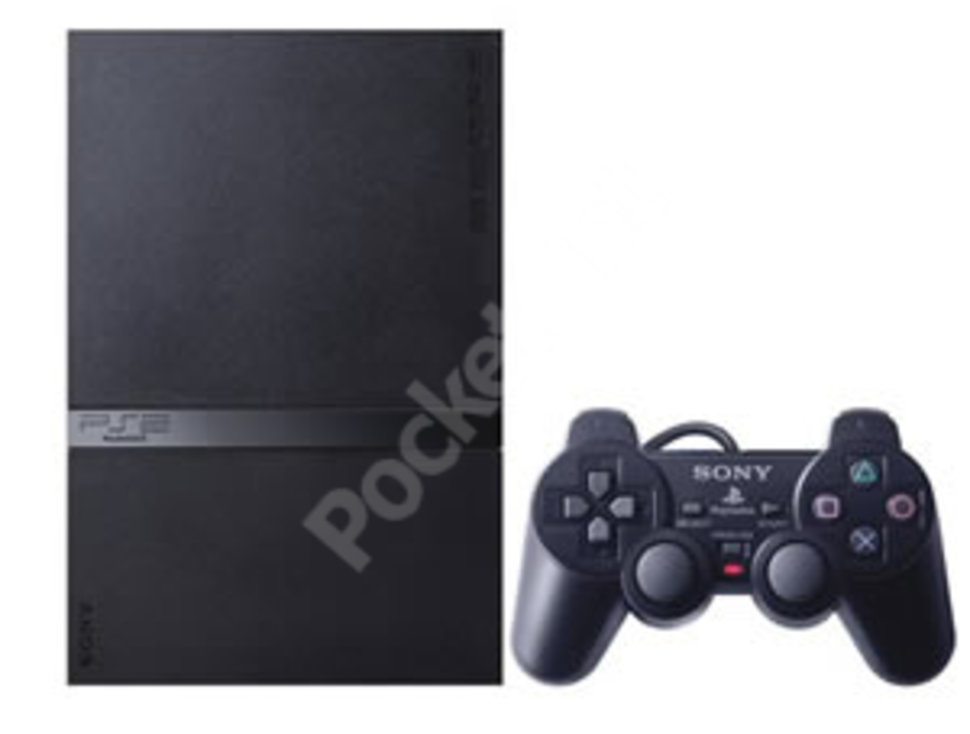 slim line playstation 2 ps2 image 1